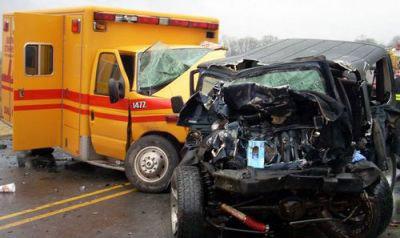 Photo 22 Ambulance Crash (yellow)