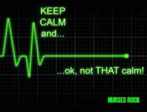 PARAMEDIC EKG KEEP CALM