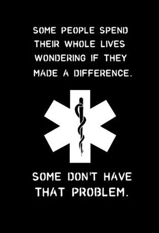 PARAMEDIC MAKES DIFFERENCE
